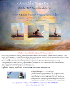 Deep Stretch Series @ Open Sky Yoga Barn | Redding | Connecticut | United States