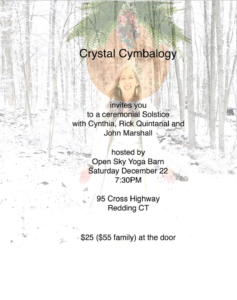 Winter Solstice with Crystal Cymbalogy