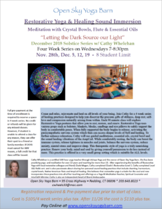 Restorative Yoga & Sound Healing Immersion