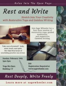 Rest & Write