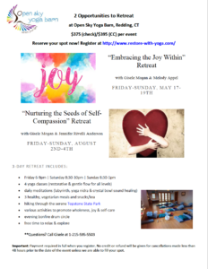 Nurturing Seeds of Self-Compassion Retreat