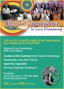 Bliss Out Journey Dance to Live Drumming